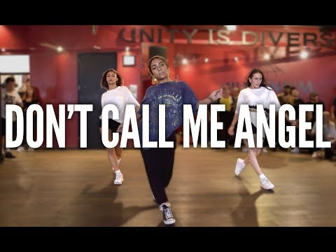 "Smooth Glides and Fancy Footwork Take This ""Don't Call Me Angel"" Dance to the Next Level"