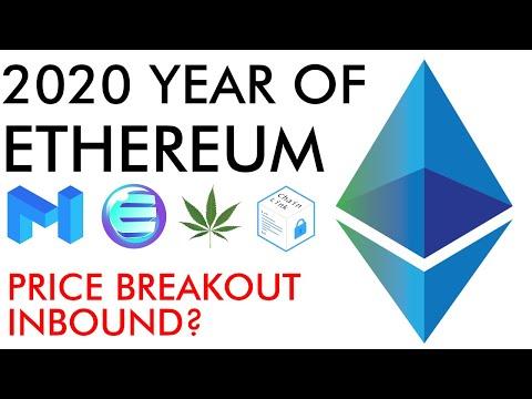 2020 The Year Of Ethereum - Price Breakout Inbound?