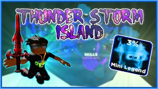 How to get to Thunderstorm Island in Roblox Ninja Legends ⚡