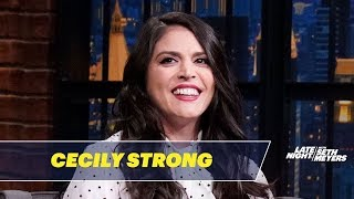 Cecily Strong Cried Tears of Joy After Performing with RuPaul on SNL