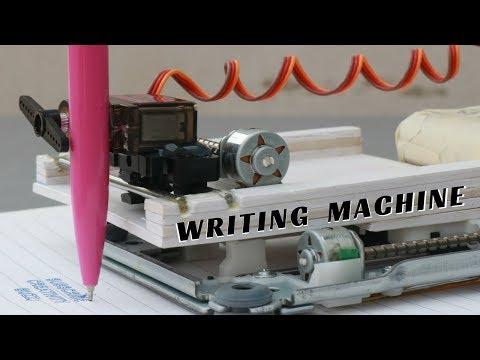 How To Make Homework Writing Machine at Home