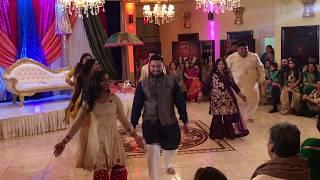 Nadia and Muneeb's Best Mehndi Dance! 2018 Part (2 of 3)