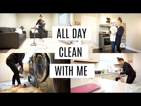 ALL DAY CLEAN WITH ME 2019 || SPEED CLEANING