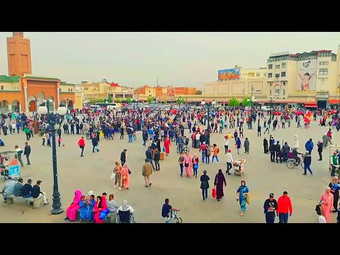 Tour in Oujda city HD 2018 _ جولة في مدينة وجدة