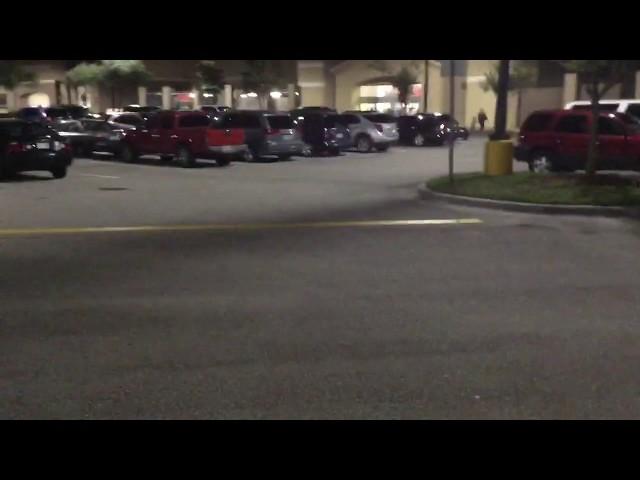 Orlando Florida USA Walmart Black Friday Night Eve P1