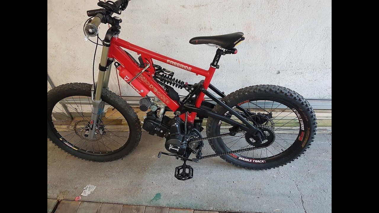 bike with 125cc engine - YouTube