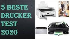 5 Beste Drucker Test 2020