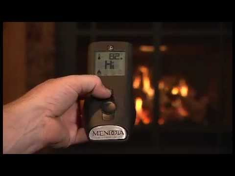 How to use the Mendota Fireplace Remote - YouTube