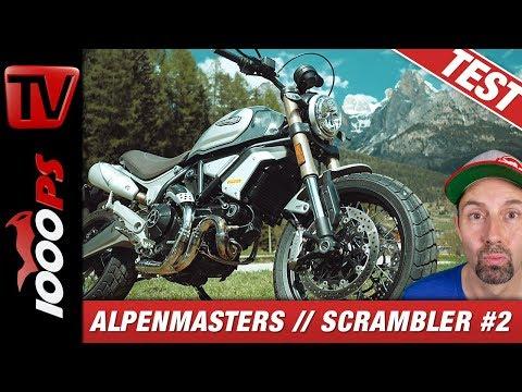 Ducati Scrambler 1100 Special Test - Alpenmasters Vergleich - Scrambler 2/4