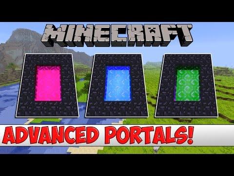 Minecraft Plugin Tutorial - Advanced Portals