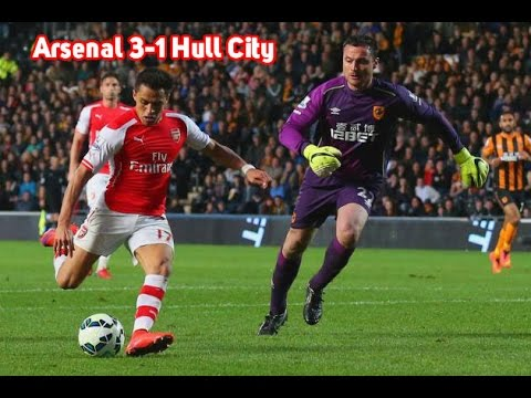 Arsenal vs Hull City 3-1 all Goals and Highlights 04/05/2015