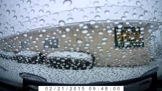 Drive to McDonalds during a snowstorm in Monroeville PA February 21, 2015