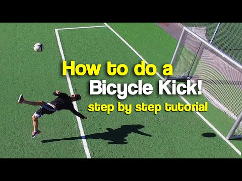 How to do a Bicycle Kick | Tutorial step by step