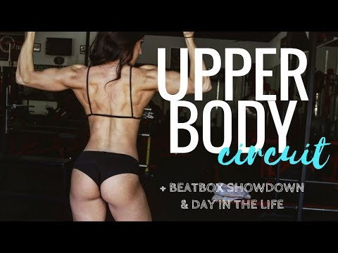 KILLER UPPER BODY CIRCUIT + EPIC BEATBOX BATTLE // Day In The Life