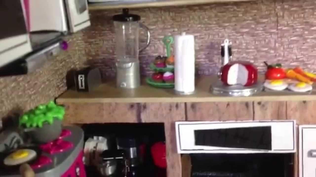 Tour por la cocina comedor de casa monster high youtube for La cocina en casa