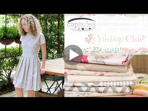 Sewing Products made with Le Vintage Chic Fabrics by AGF Studio
