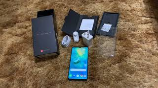 Huawei Mate 20 Unboxed & Quick Overview