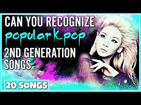 CAN YOU RECOGNIZE POPULAR KPOP 2ND GENERATION SONGS IN 10 SECONDS