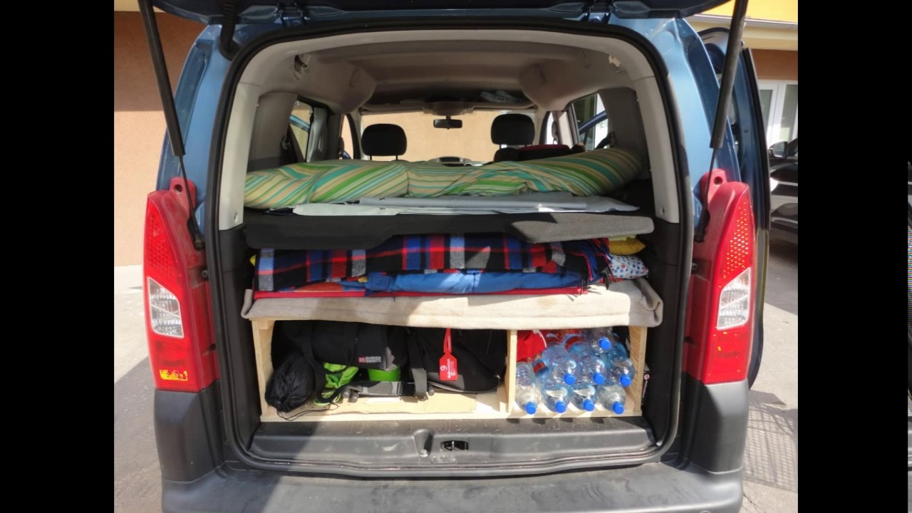 citroen berlingo ii camper youtube. Black Bedroom Furniture Sets. Home Design Ideas