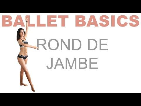 Ballet Basics: Rond de Jambe