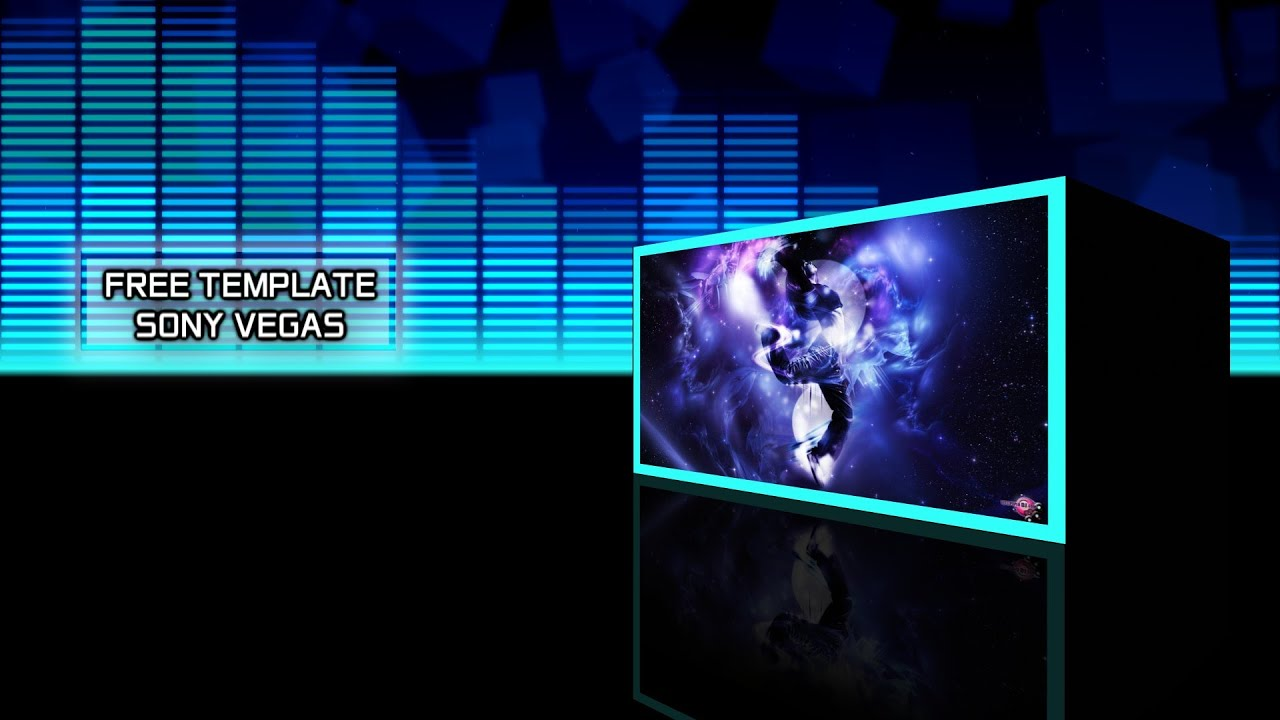 free template sony vegas pro 11 - 12 - 13 - equalizer [tame, Powerpoint templates