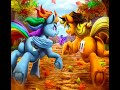 MLP:FIM 🍎Applejack🍎 X Rainbow🌈Dash - Tribute - Fireball