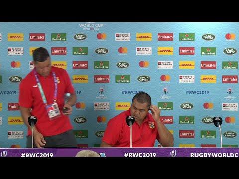 Tonga post match press conference | Argentina v Tonga