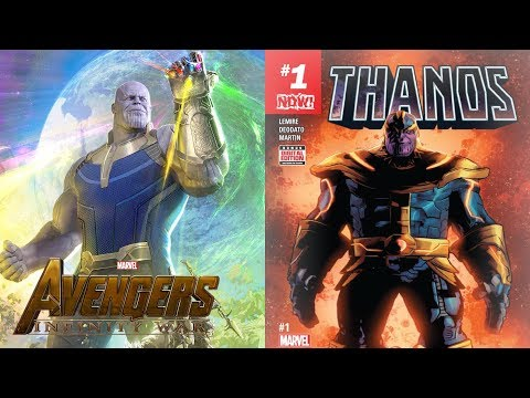 Comics about Thanos to Read before the Avengers: Infinity War Movie