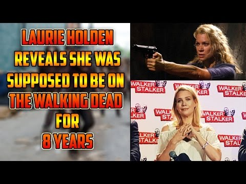Laurie Holden Had 8Year Deal On The Walking Dead! Andrea Supposed To Be With Rick!  Frank D. Rant