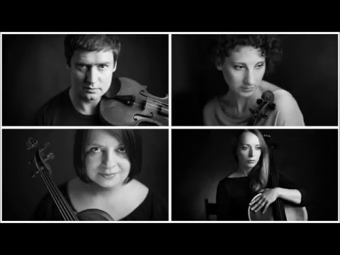 Стравинский Игорь - 3 пьесы для струнного квартета