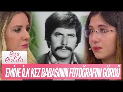 Emine vefat eden babasının fotoğrafını ilk kez gördü - Esra Erol'da 17 Ocak 2019