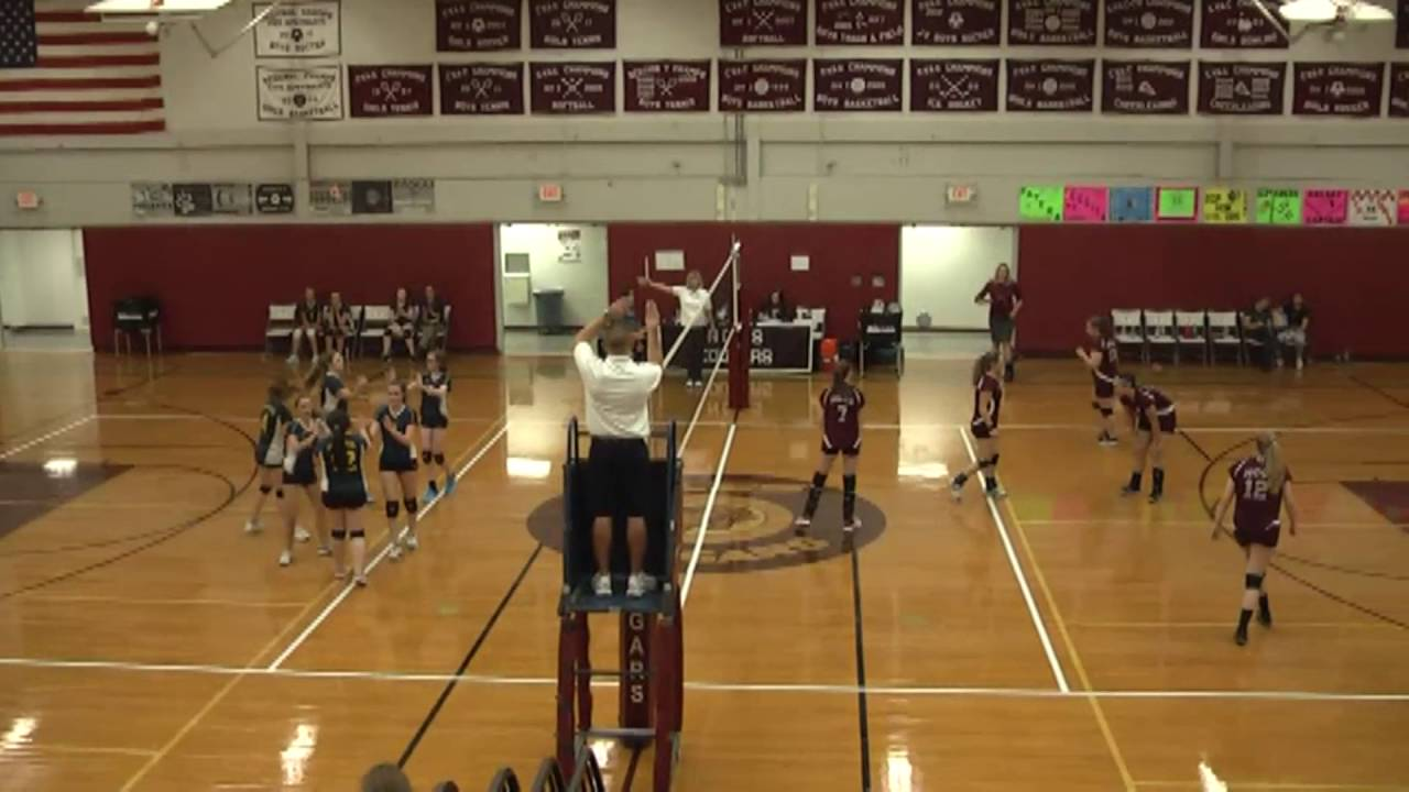NCCS - Lake Placid JV Volleyball  10-6-16