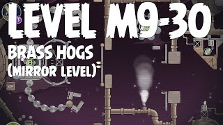 Angry Birds Space Brass Hogs Level M9-30 Mirror World 3 Star Walkthrough
