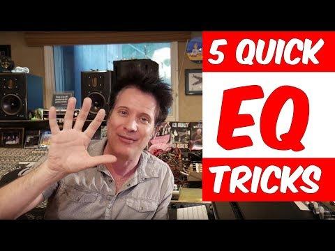 5 Quick EQ Mixing Tricks - Warren Huart: Produce Like A Pro