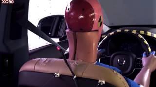 2016 VOLVO XC90 vs 2017 AUDI Q7 CRASH TEST
