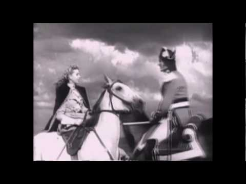 EL CORREO DEL REY.Juny Orly et Robert le Vigan.1950