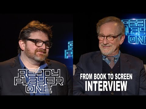 'Ready Player One' From Book To Screen Interview