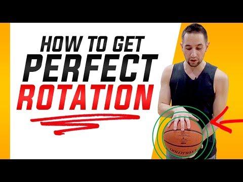 How to Get Perfect Basketball Shot Rotation: Basketball Shooting Form