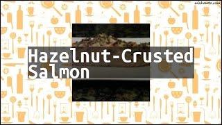 Recipe Hazelnut-Crusted Salmon