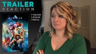 Aquaman #2 Extended - TRAILER REACTION