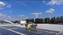 Solar PV Farm on Warehouse Rooftop in Berlin - Germany - Solar Investments
