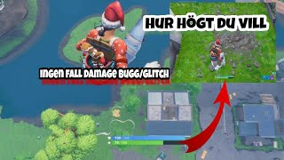 NO FALL DAMAGE BUG/GLITCH IN FORTNITE. THIS IS HOW YOU DO IT! Latest update.