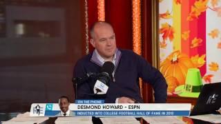 Heisman Trophy Winner Desmond Howard Recalls The Time He Returned the Punt Against Ohio - 11/223/16