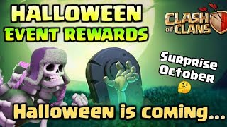 COC New Halloween Update | Next Clan Game Date | October Update | Clash Of Clans (Hindi)