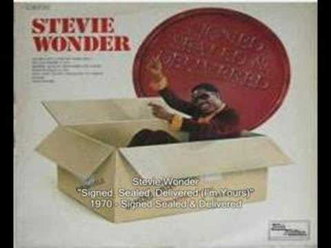 Stevie Wonder - Signed, Sealed, Delivered (I'm Yours)