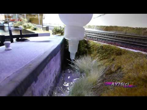 Building A Model Railway – Scenics (Modelling Water)