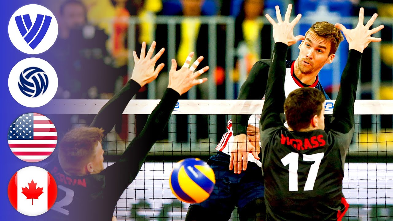 USA vs. Canada - Full Bronze Medal Match | Men's Volleyball World League 2017