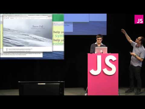 Nick Small and Edward Ocampo-Gooding: What We Learned by Teaching(.js) -- JSConf EU 2013