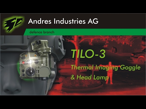 TILO-3 Thermal Imaging Goggle And Head Lamp