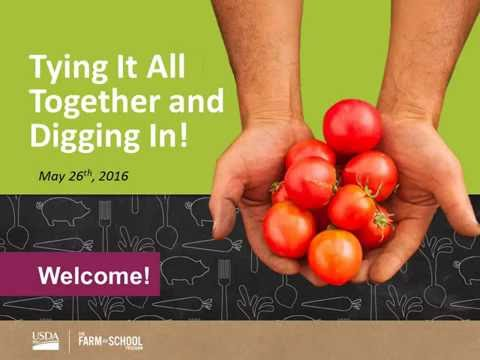 Planning for Farm to School Success   Tying It All Together and Digging In